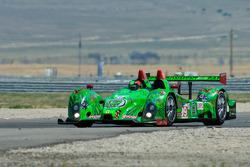#99 Green Earth Team Gunnar Oreca FLM09: Gunnar Jeannette, Christian Zugel
