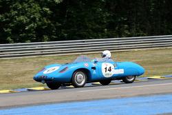 #14 Panhard HBR Barquette: Honoré Durand, Gilbert Lenoir, David Coursier