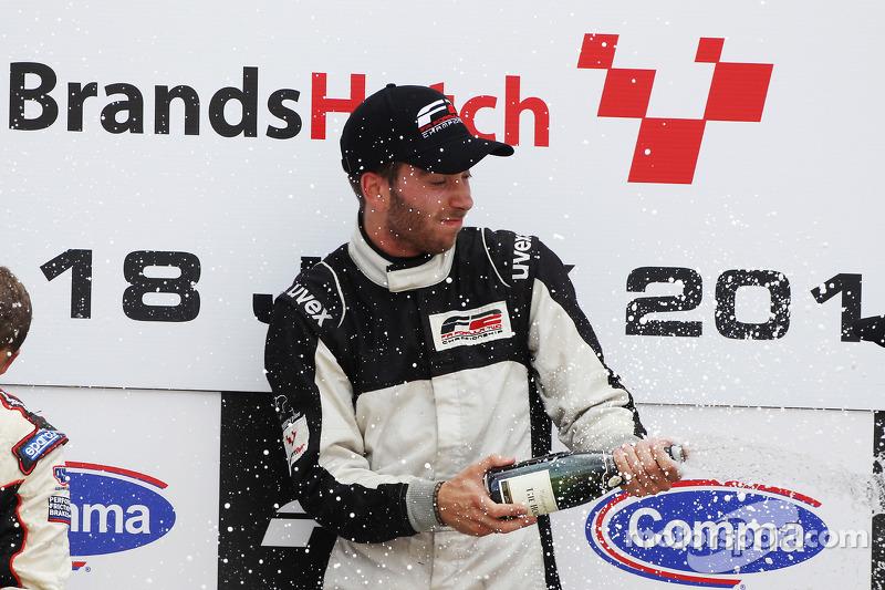 Podium: race winnaar Philipp Eng