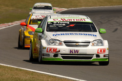 Darryl O'Young leads Mehdi Bennani and Harry Vaulkhard