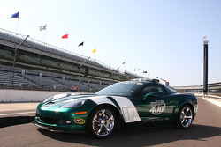 The 2010 Brickyard 400 Corvette pace car