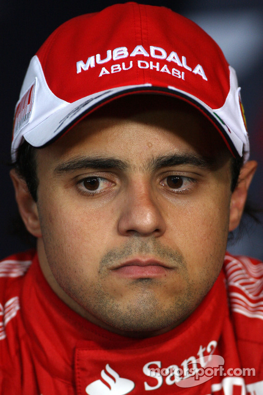 Persconferentie: 3de Felipe Massa, Scuderia Ferrari