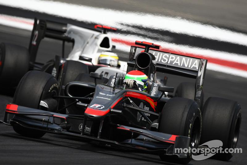 Sakon Yamamoto, Hispania Racing F1 Team ve Pedro de la Rosa, BMW Sauber F1 Team