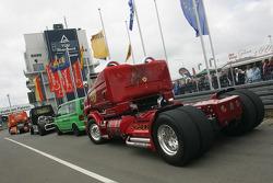 The Duel: DTM Audi vs Race Truck