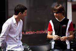 Alexander Rossi and Esteban Gutierrez