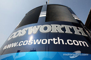 Cosworth truck in the paddock