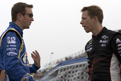 Kurt Busch, Penske Racing Dodge et Brad Keselowski, Penske Racing Dodge