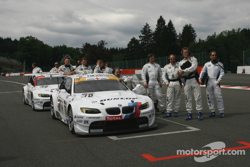 BMW Motorsport team