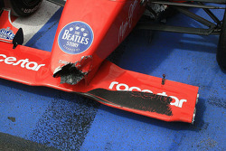James Cole's front wing