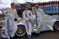 #52 Mühlner Motorsport Porsche 911 GT3 R GT3: Armen Fumal, Gianluca de Lorenzi, Jérome Thiry, Mark J.Thomas