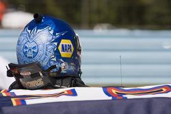 Helmet of Martin Truex Jr., Michael Waltrip Racing Toyota
