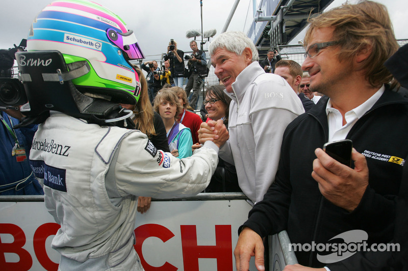 Race winnaar Bruno Spengler, Team HWA AMG Mercedes C-Klasse