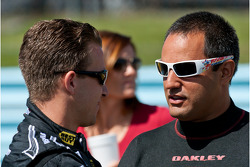A.J. Allmendinger, Richard Petty Motorsports Ford and Juan Pablo Montoya, Earnhardt Ganassi Racing Chevrolet