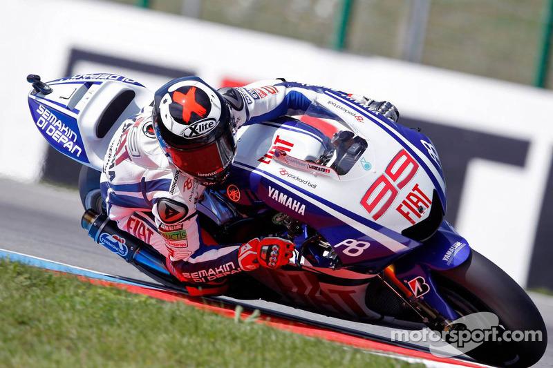 2010: Jorge Lorenzo, Yamaha YZR-M1