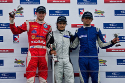 Invitation class podium from left: James Cole, Pietro Fantin and Menasheh Idafar