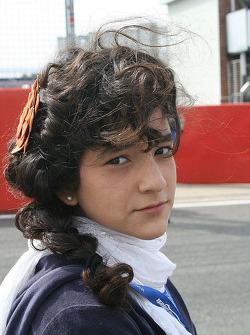 Juan Carlos Sistos' grid girl