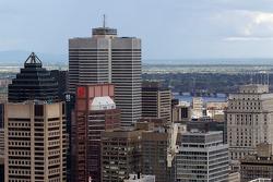 A view of downtown Montréal