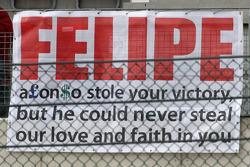 Een bericht voor Felipe Massa