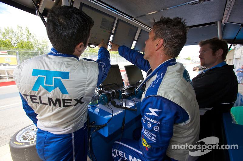 Memo Rojas et Scott Pruett