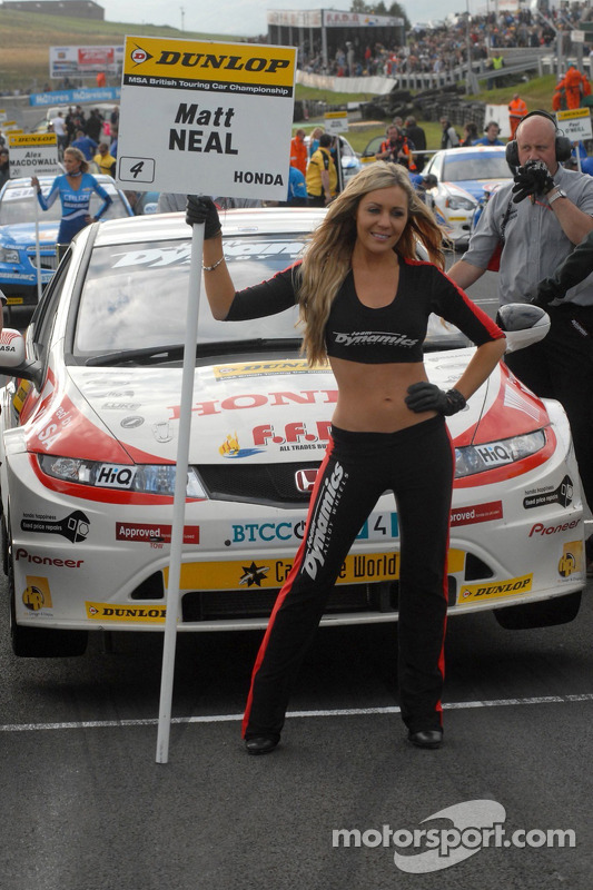 Grid Girl de Matt Neal