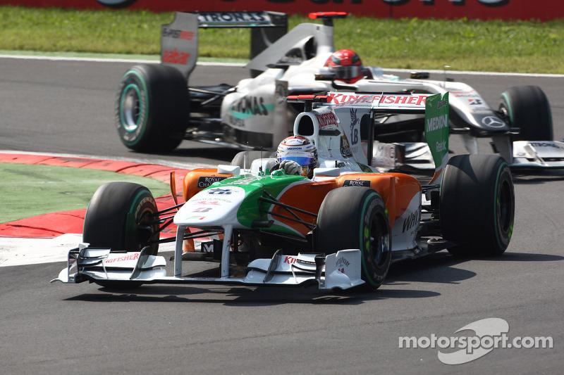 Адріан Сутіль, Force India Mercedes