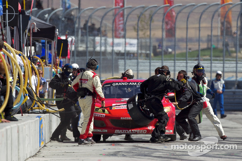 Pitstop #30 Racers Edge Motorsports Mazda RX-8: Jade Buford, Andy Lally