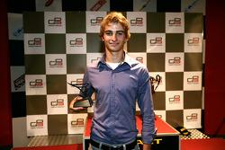 Nico Muller receives his award