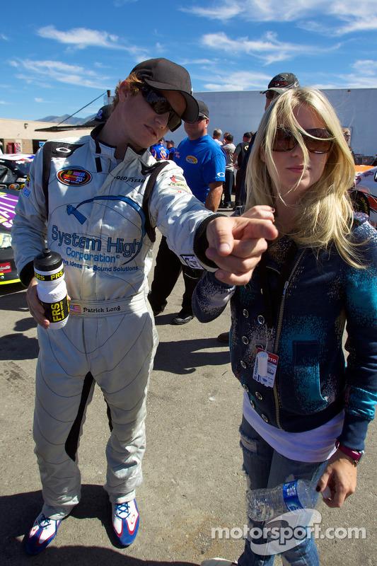 Patrick Long met vriendin