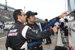 Helio Castroneves, Team Penske and Raphael Matos, de Ferran Luczo Dragon Racing