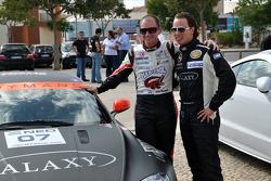 GT1 World and Superleague Formula demo run: Xavier Maassen and GT4 driver Paul Meijer