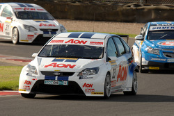 Tom Chilton leads Alex MacDowall and Tom Onslow-Cole