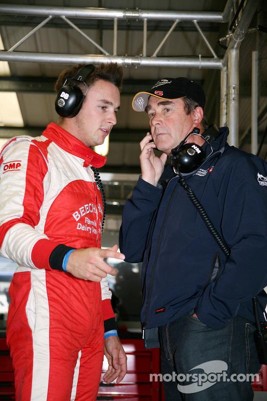 Greg Mansell et Nigel Mansell