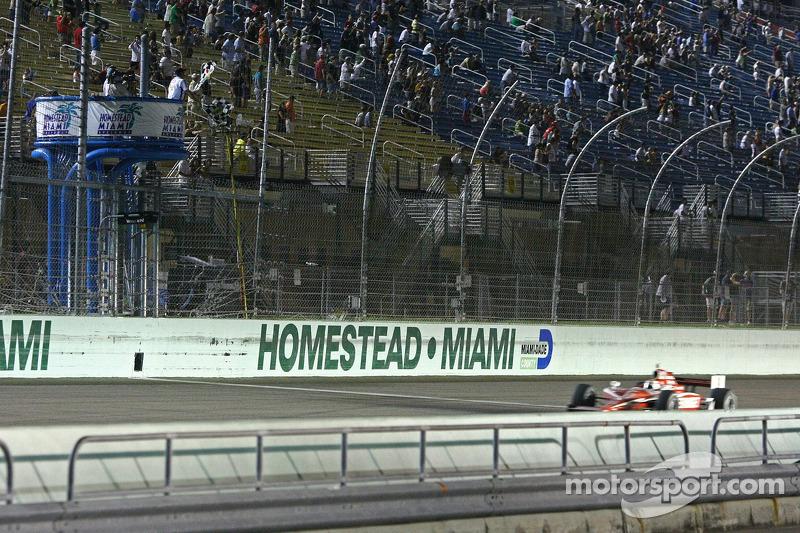 Scott Dixon, Target Chip Ganassi Racing aan de finish