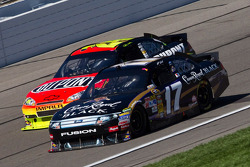Matt Kenseth, Roush Fenway Racing Ford et Jeff Gordon, Hendrick Motorsports Chevrolet