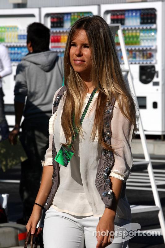 Vivian Sibold, vriendin Nico Rosberg