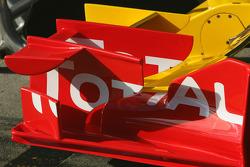 Détail aileron avant Renault F1