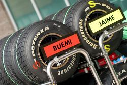 Scuderia Toro Rosso, Bridgestone tyres