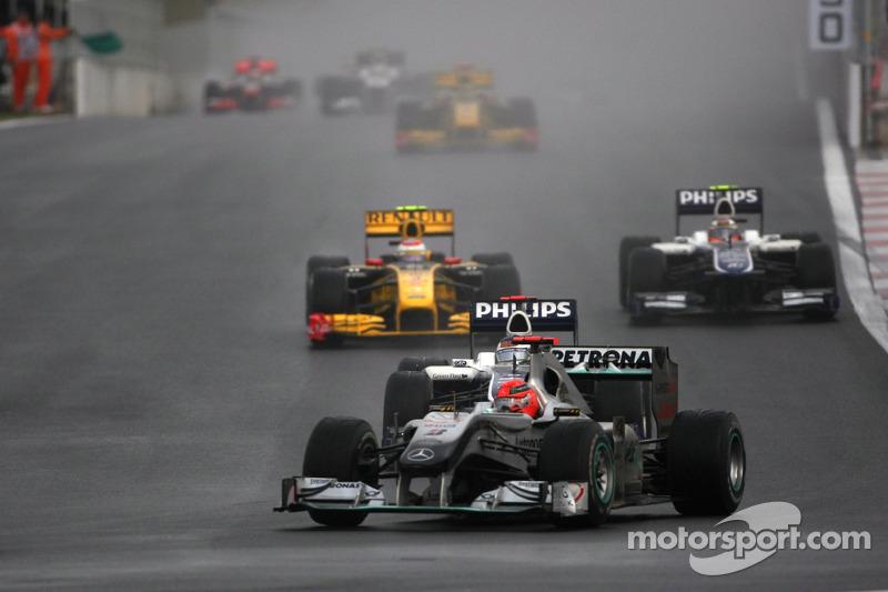 Im Regen erneut zu Platz 4
