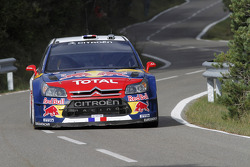 Sébastien Loeb et Daniel Elena, Citroën C4, Citroën Total World Rally Team
