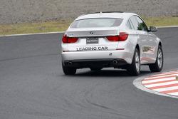 BMW Grand Turismo, leading car