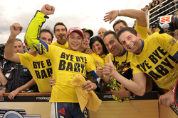Derde plaats Valentino Rossi, Fiat Yamaha Team