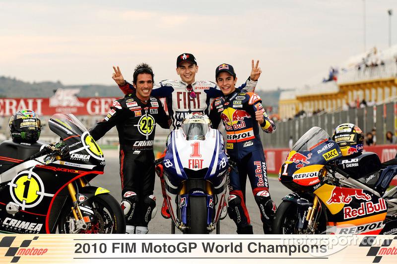 2010: Campeão nas 125cc
