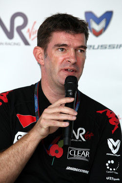 Virgin Racing chief executive Graeme Lowdon