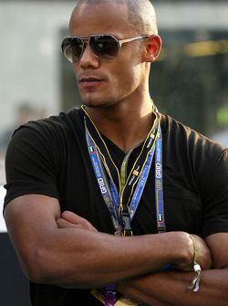 Vincent Kompani, Manchester City football player