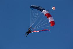 Sky diver
