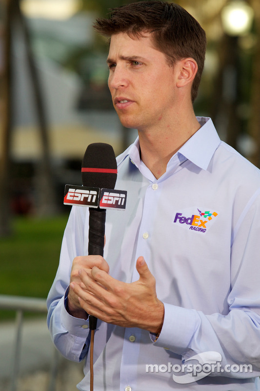 NASCAR Championship evenement in South Beach: Denny Hamlin, Joe Gibbs Racing Toyota