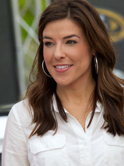 NASCAR Championship drive event in South Beach: the lovely Monica Palumbo
