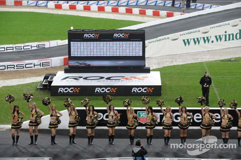 Race of Champions girls