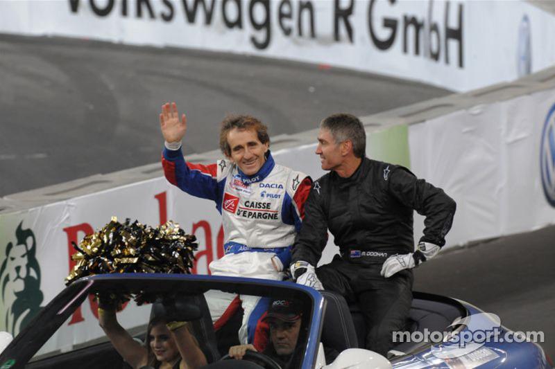 Alain Prost and Mick Doohan