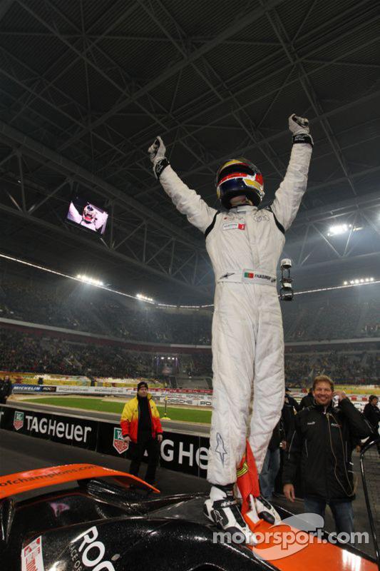 Race of Champions winnaar Filipe Albuquerque
